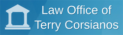 Terry Corsianos B.Sc., M.Sc. Ed., LL.B. Barrister & Solicitor Logo